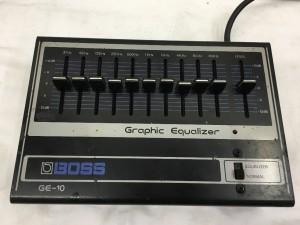 商品名 GE-10 Graphic Equalizer